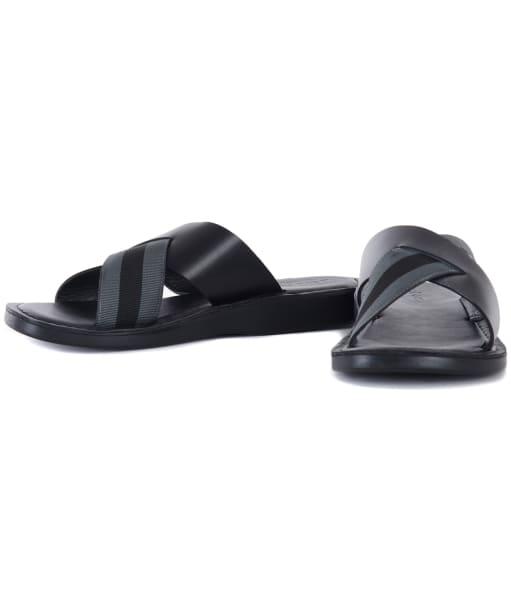 Men's Barbour Arlo Sandals - Black