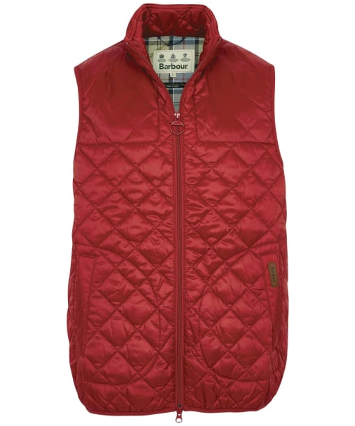 Men's Barbour Mitchell Gilet - Lobster Red