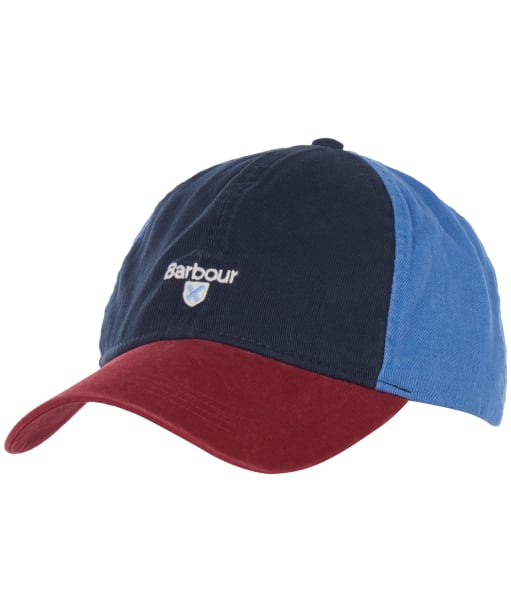Men's Barbour Laytham Sports Cap - Navy / Red / Blue