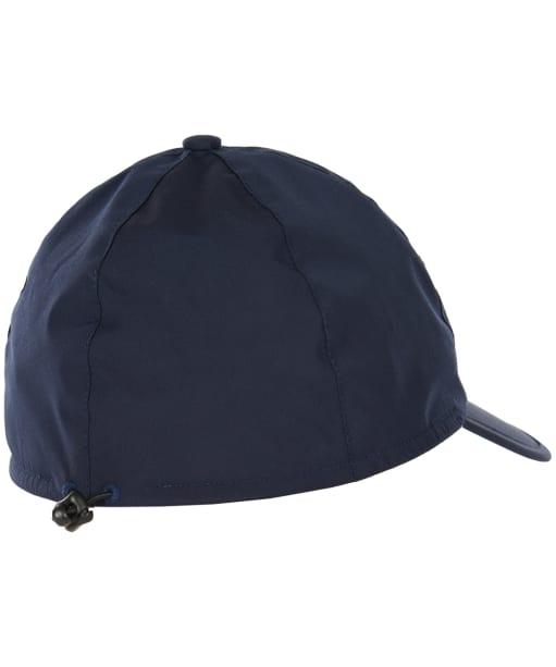 Men's Barbour Crest Waterproof Packaway Sports Cap - Navy