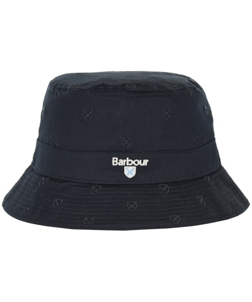 Men's Barbour Crest Embroidered Sports Hat - Navy