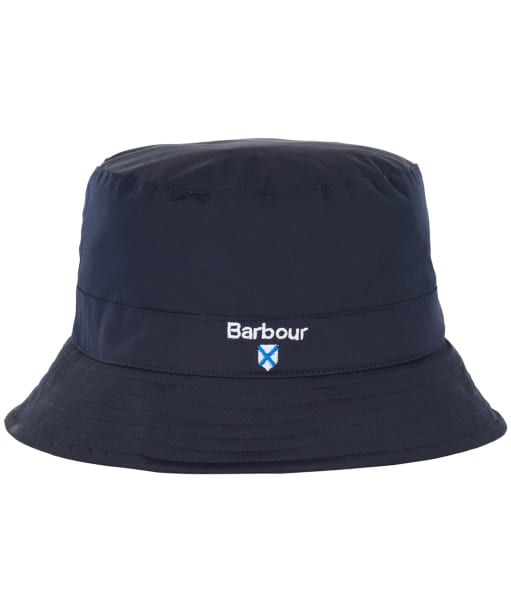 Men's Barbour Crest Waterproof Sports Hat - Navy
