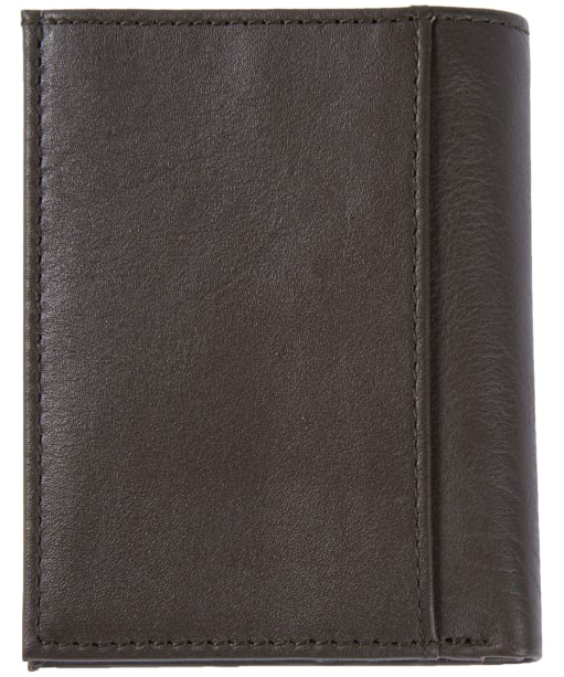 Men's Barbour Colwell Small Leather Wallet - Olive