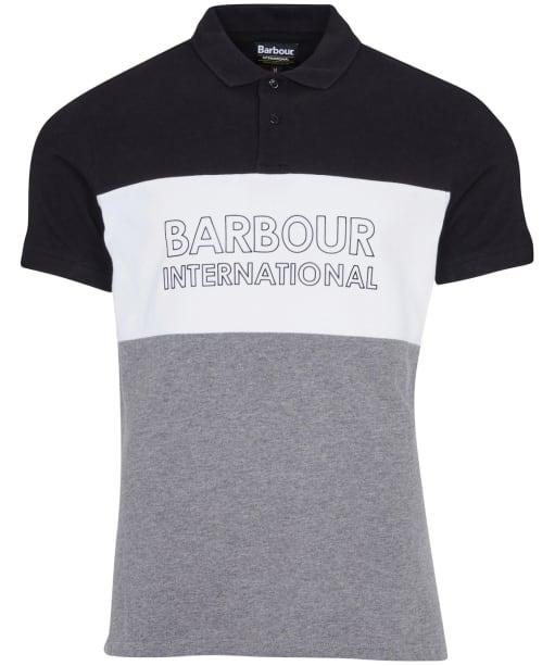Men's Barbour International Bold Polo Shirt - Black