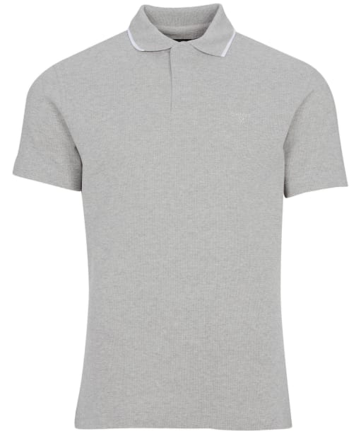 Men's Barbour Malin Polo Shirt - Grey Marl