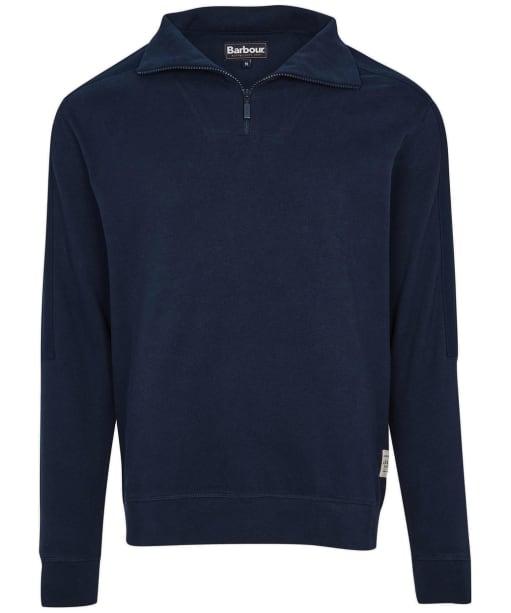 Men's Barbour Harbour Half Zip Sweater - Navy