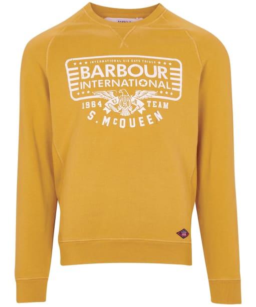 Men's Barbour International Steve McQueen 1964 Team Sweater - Harvest Gold