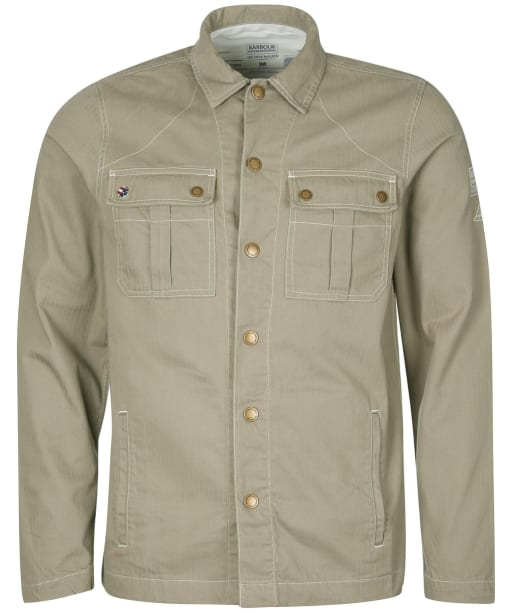 Men's Barbour International Steve McQueen Profile Overshirt - Coriander