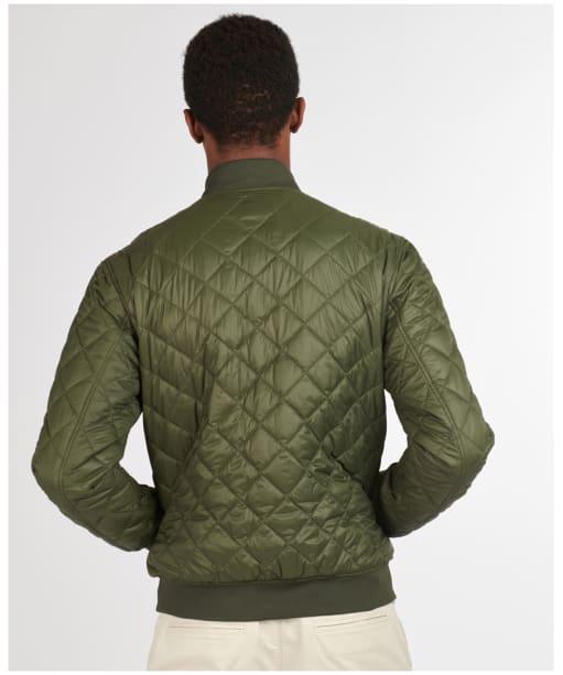 Men's Barbour Gabble Quilted Jacket - Olive