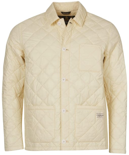 Men's Barbour Soval Quilted Jacket - Chalk