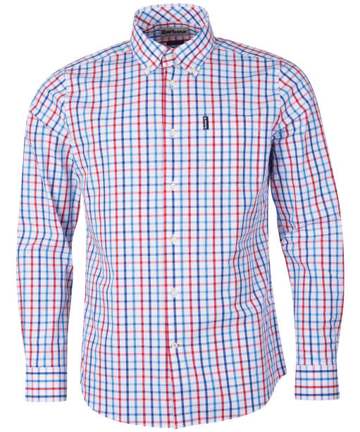 Men's Barbour Tattersall 15 Tailored Shirt - Red