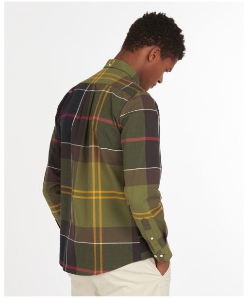Men's Barbour Sutherland Shirt - Classic Tartan