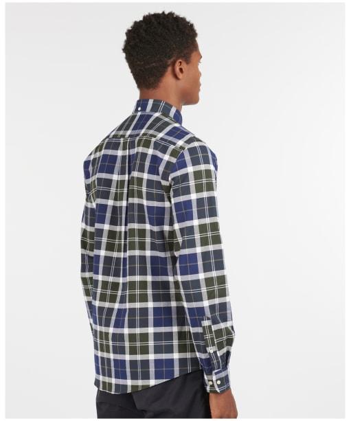 Men's Barbour Tartan 11 Tailored Shirt - Sage