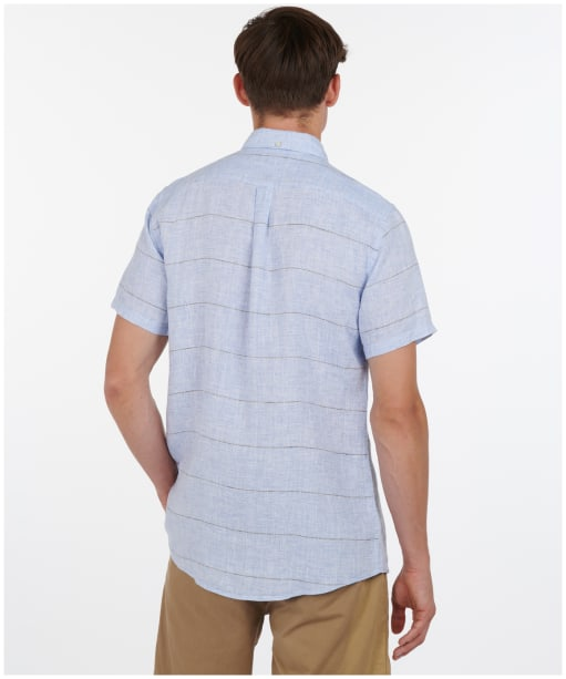 Men's Barbour Petteril Shirt - Blue