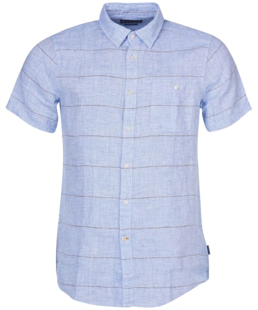 Men's Barbour Petteril Shirt - Blue