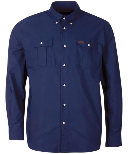 Men's Barbour Waddington Coolmax Shirt - Navy
