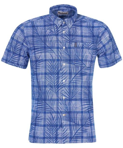 Men's Barbour Summer Print 7 Shirt - Blue Print
