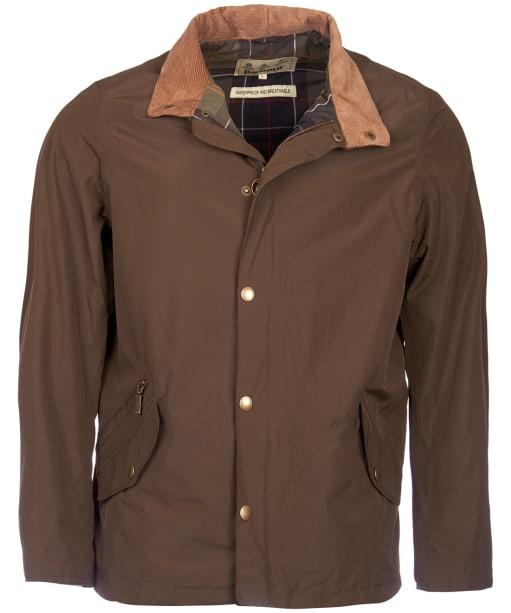 Men's Barbour Spoonbill Waterproof Jacket - Dark Olive