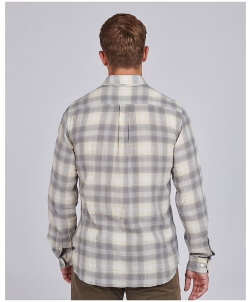 Men's Barbour International Steve McQueen Hoggan Shirt - Whisper White Check
