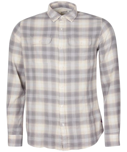 Men's Barbour International Steve McQueen Hoggan Shirt - Whisper White Check