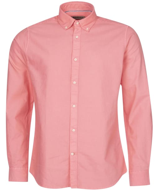 Men's Barbour Oxford 13 Tailored Shirt - Coral