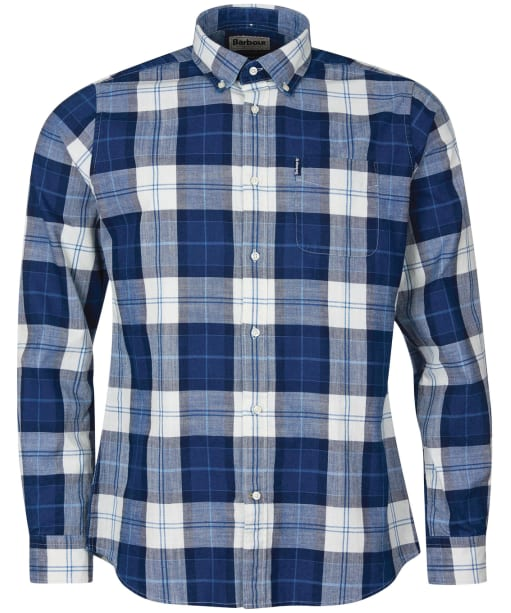 Men's Barbour Indigo 9 Tailored Shirt - Indigo