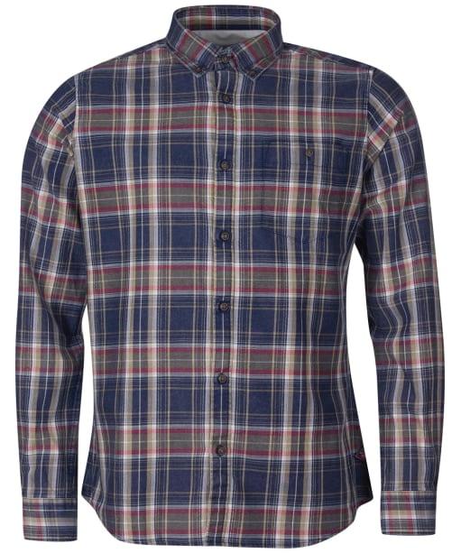 Men's Barbour International Steve McQueen Beck Shirt - Dark Petrol