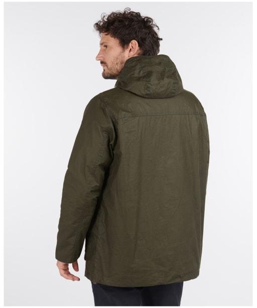 Men's Barbour Lightweight Dryden Waxed Jacket - Archive Olive