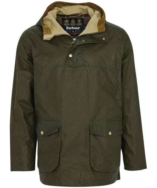 Men's Barbour Lightweight Dryden Waxed Jacket - Archive Olive