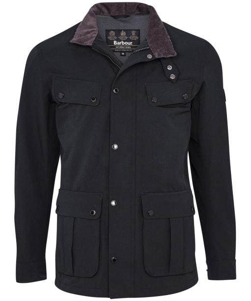 Men's Barbour International Summer Waterproof Duke Jacket - Black
