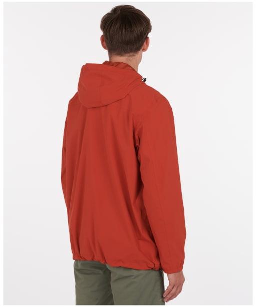 Men's Barbour Cragside Waterproof Jacket - Sunset Orange