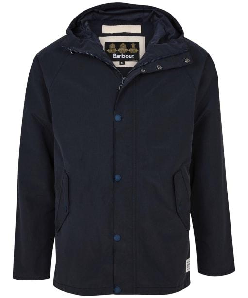 Men's Barbour Bobbin Waterproof Jacket - Navy