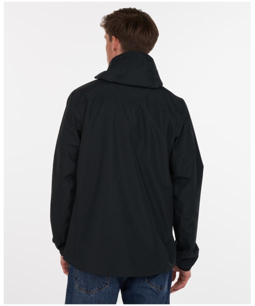 Men's Barbour Oakwood Waterproof Jacket - Black