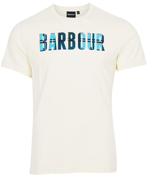 Men's Barbour Canlan Tee - Chalk
