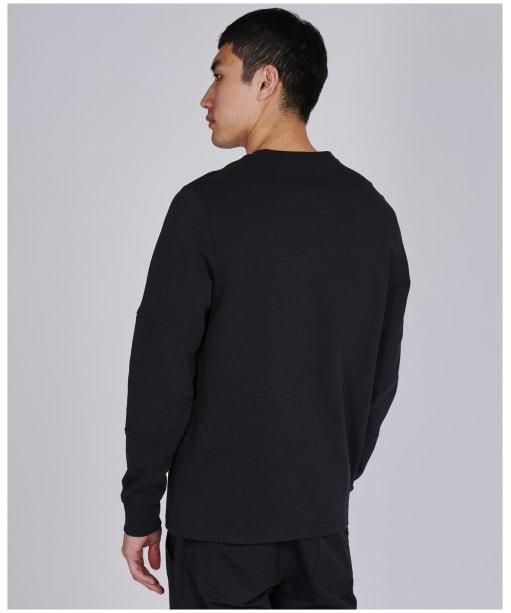 Men's Barbour International Decal L/S Tee - Black