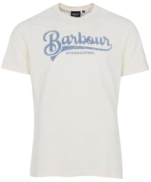 Men's Barbour International Understeer Tee - Chalk