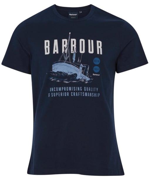 Men's Barbour Storm Tee - Navy