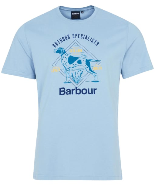 Men's Barbour Loyal Tee - Powder Blue