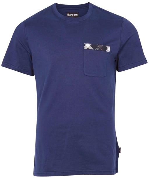 Men's Barbour Bryce Tee - Regal Blue