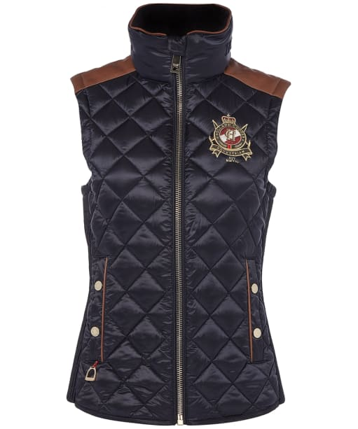 Women's Holland Cooper Diamond Quilted Classic Gilet - Ink Navy