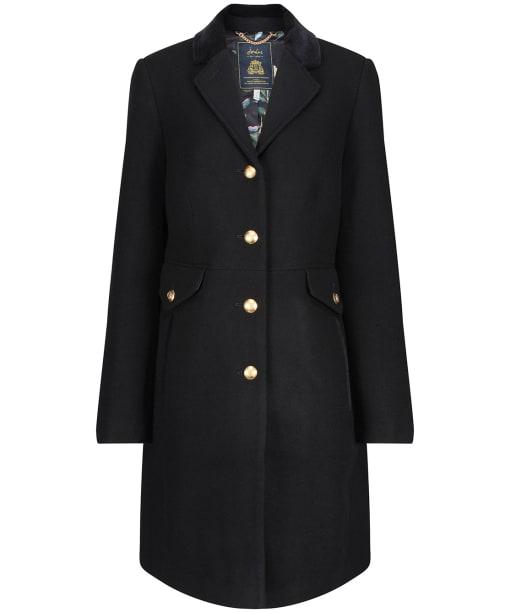 Women's Joules Windsor Hacking Coat - Black