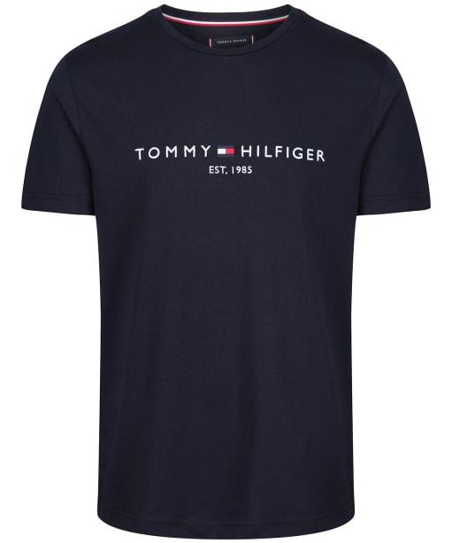 Men's Tommy Hilfiger Logo Tee - Sky Captain