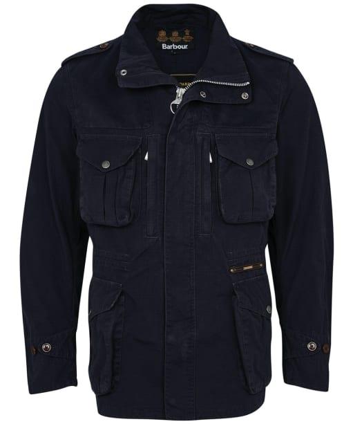 Men's Barbour Gold Standard Supa Overdyed Corbridge Casual Jacket - Navy