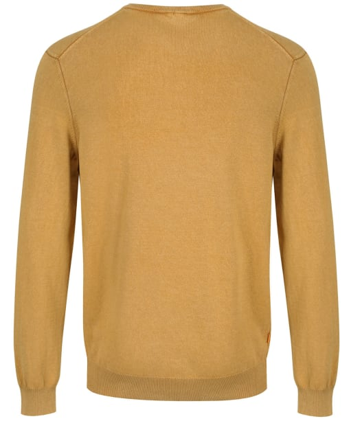 Men's Timberland Lightweight Crew Neck Sweater - Wheat Boot