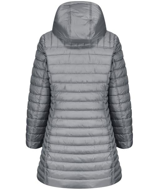 Women's Joules Canterbury Long Luxe Jacket - Slate