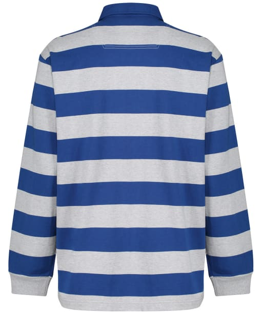 Men's Joules Onside Rugby Shirt - BLUE/GREY STRP