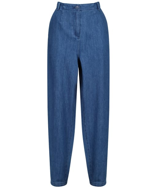 Women's Seasalt Stones Throw Trousers - Mid Wash Indigo
