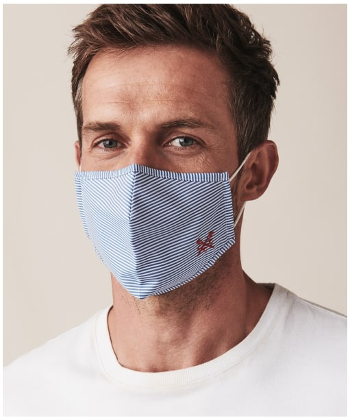Crew Clothing Face Covering - Stripe