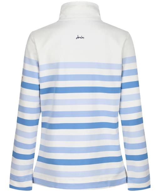 Women's Joules Saunton Sweatshirt - Cream Stripe