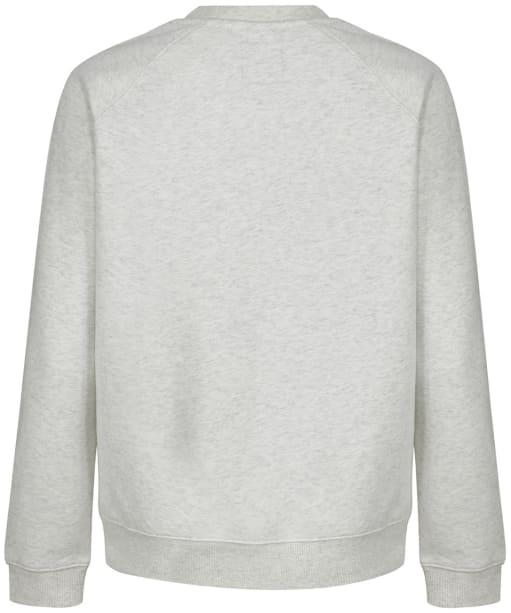 Women's Crew Clothing Brushed Back Crew Sweatshirt - Grey Marl